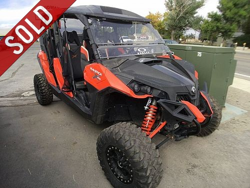 2014 Can-Am CANAM MAX<br><span>$16,000*SOLD - 1,700miles</span>